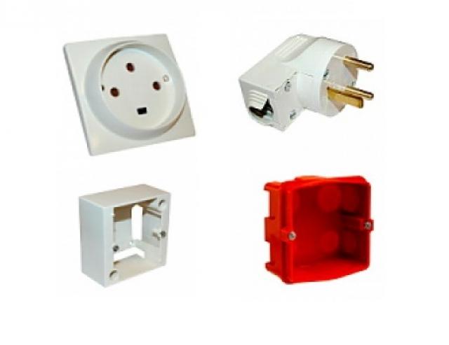 Изделия электроустановочные