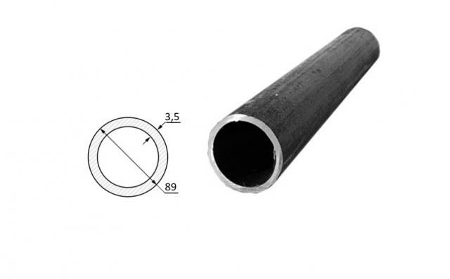 Труба электросварная стальная D-наружный 89 мм