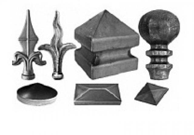 Пики, наконечники и навершия
