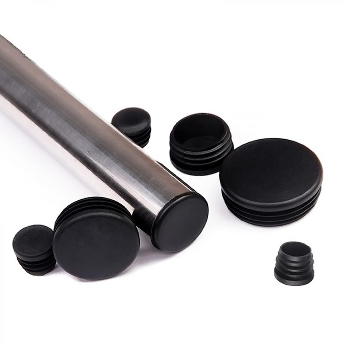 Заглушка ПВХ на круглую трубу внутренняя D=89 мм