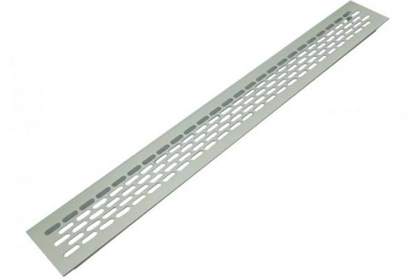 Решетка вентиляционная для подоконника 480*60 мм алюминиевая