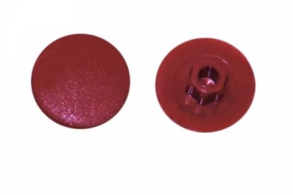 Заглушка на конфирмат №7 Красная вишня (50 шт)
