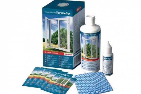Набор для ухода за ПВХ окнами COSMOKLAR Premium