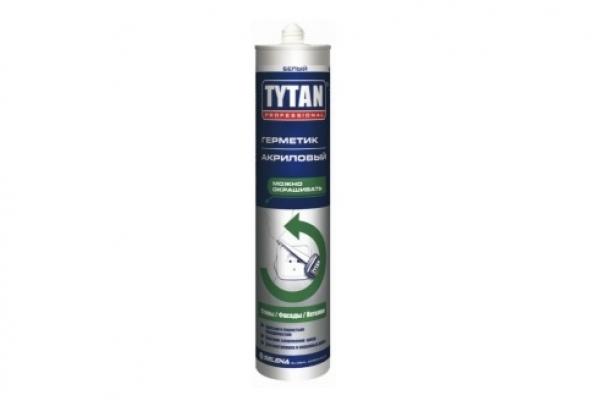 Герметик акриловый неморозостойкий TYTAN 310 мл