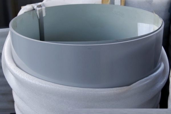 Лист окрашенный плоский 0,45 мм 1250*3000 мм сигнально-серый (RAL7004)