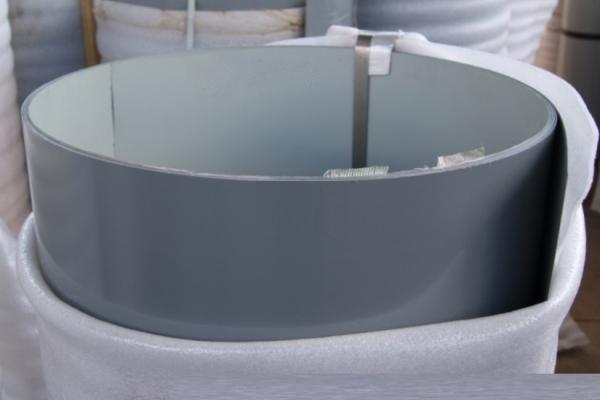 Лист окрашенный плоский 0,45 мм 1250*2000 мм серый (RAL7005)