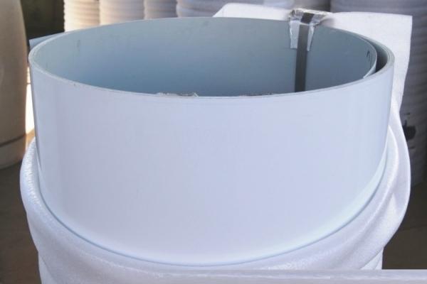 Лист окрашенный плоский 0,45 мм 1250*2000 мм белый (RAL9003)