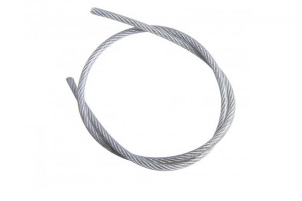 Трос стальной DIN 3055 для растяжки цинк 6 мм