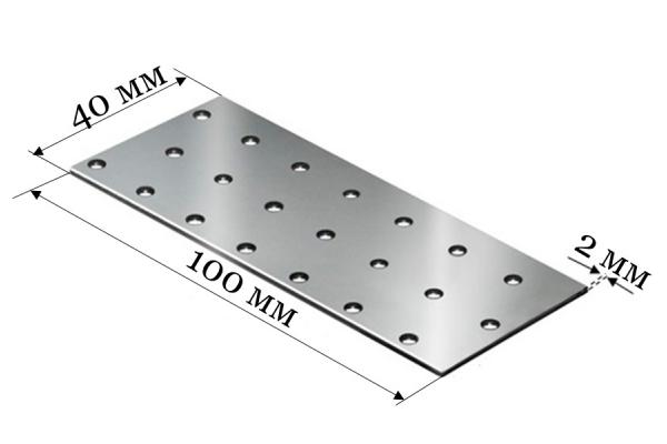 Пластина соединительная PS 40*100*2 мм