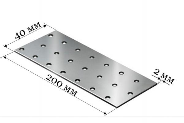 Пластина соединительная PS 40*200*2 мм