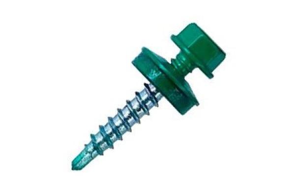 Саморез кровельный 4,8*35 мм RAL 6005 темно-зеленый