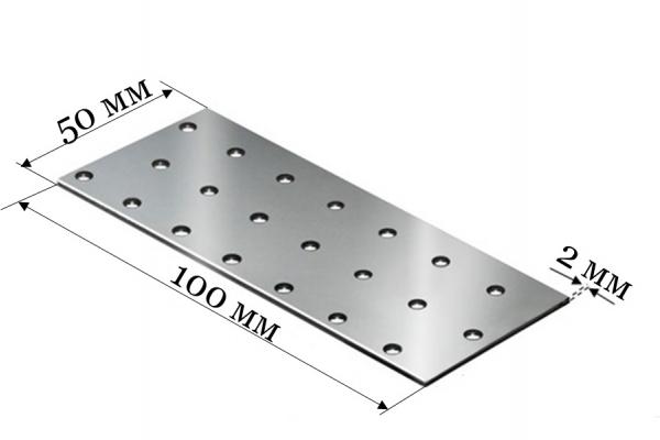 Пластина соединительная PS 50*100*2 мм