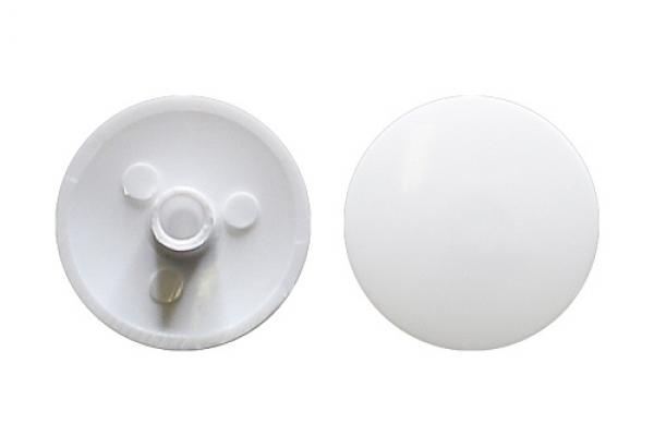 Заглушка на эксцентрик №1 белая (50 шт)