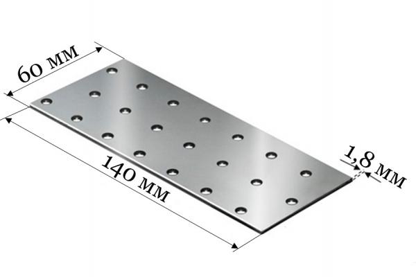 Пластина соединительная PS 60*140*1,8 мм