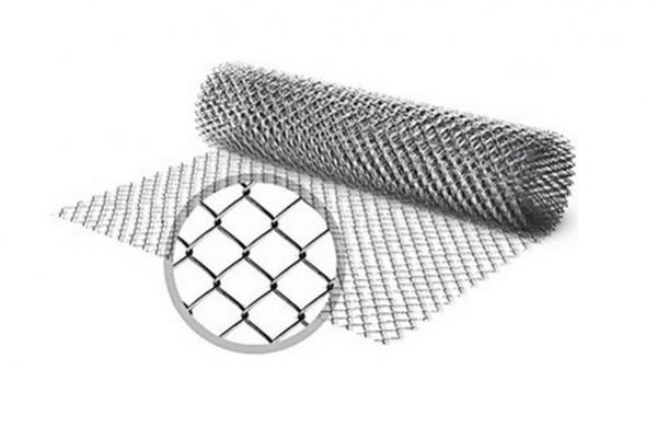 Сетка-рабица 1,5*10 м ячейка 20*20 мм D=1,2 мм