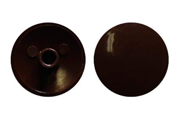 Заглушка на эксцентрик №9 шоколадно-коричневая (50 шт)