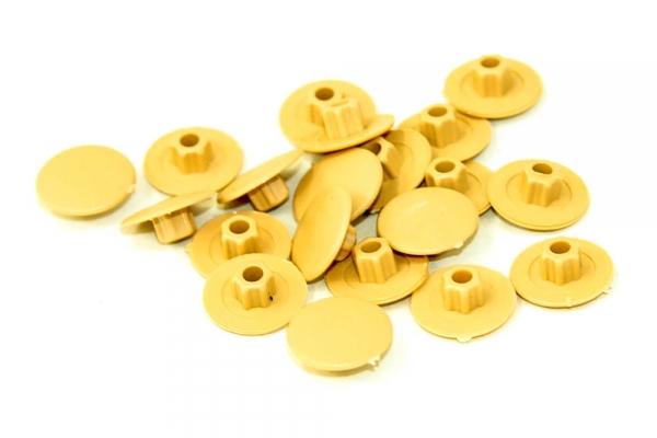 Заглушка на конфирмат №2 Светло-желтая (50 шт)