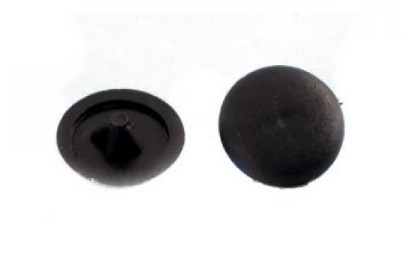 Заглушки на саморезы №2 черные (100 шт)