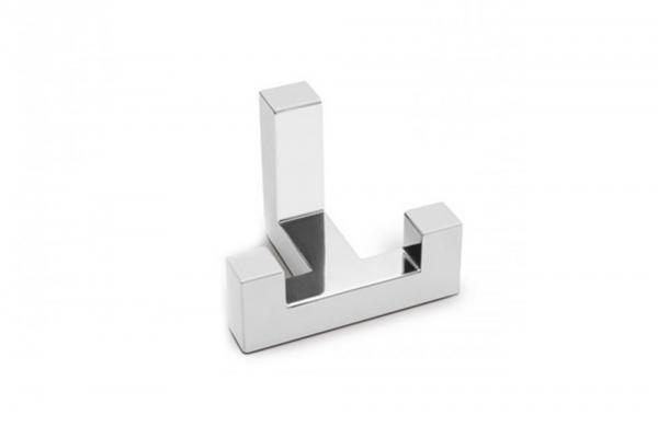 Крючок мебельный двухрожковый хром (WZ-K2292-01)