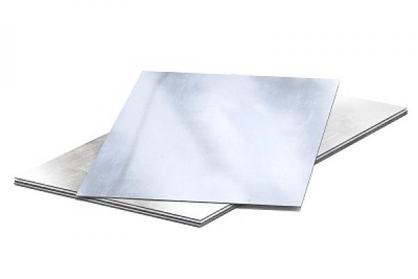 Лист оцинкованный неокрашенный плоский 0,45 мм 1250*2000 мм