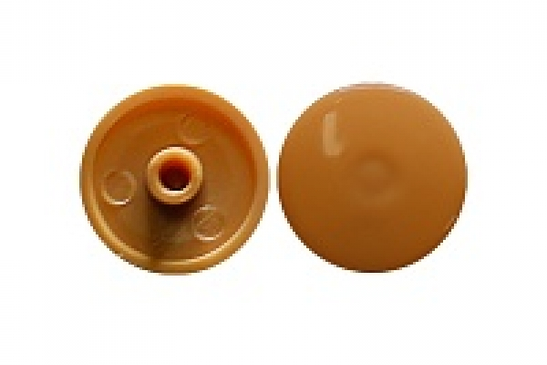 Заглушка на эксцентрик №3 светло-коричневая (50 шт)