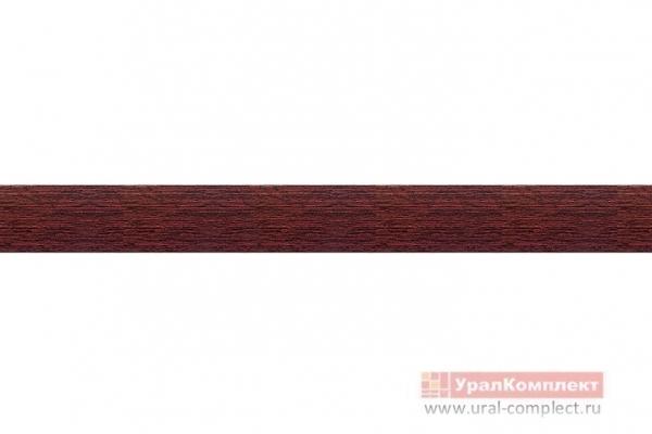 Кромка ПВХ 19/0,4 мм Махагон (без клея)