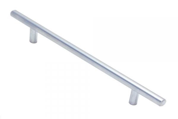 Ручка рейлинг мебельная мат. хром D12 RE 1006/288/368