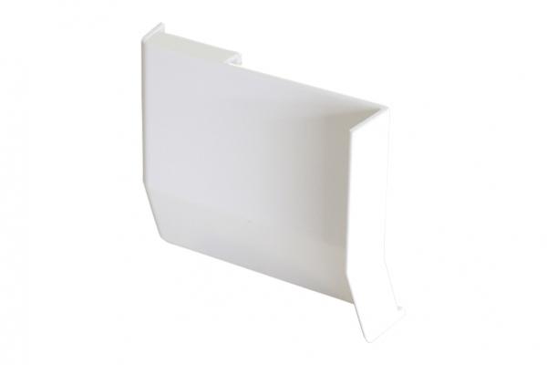 Крышечка декоративная для навеса кухонного белая левая CAMAR (806.00.01.00 SX)