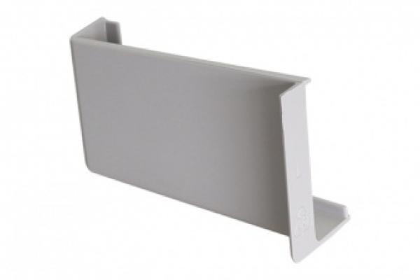 Крышечка декоративная для навеса кухонного серая левая CAMAR (806.00.60.00 SX)