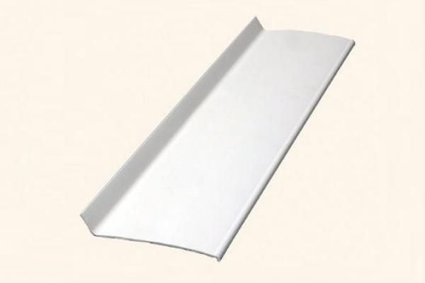 Откос наружный жесткий ПВХ 60*10*2 белый