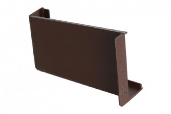 Крышечка декоративная для навеса кухонного коричневая левая CAMAR (806.00.04.00 SX)