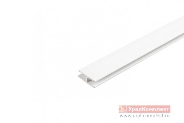 Соединитель для задней стенки ДВП L-2000 мм белый