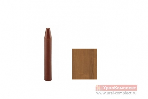 Карандаш мебельный мягкий Орех экко