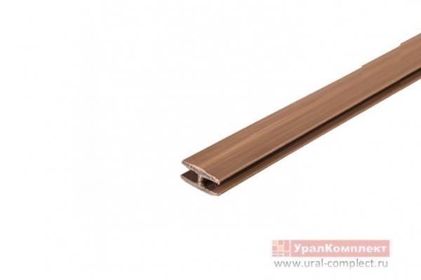 Соединитель для задней стенки ДВП L-2000 мм коричневый