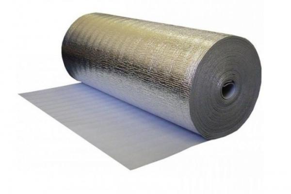 Изолар фольгированый ЛМ 03 1 м*50 м2/рулон