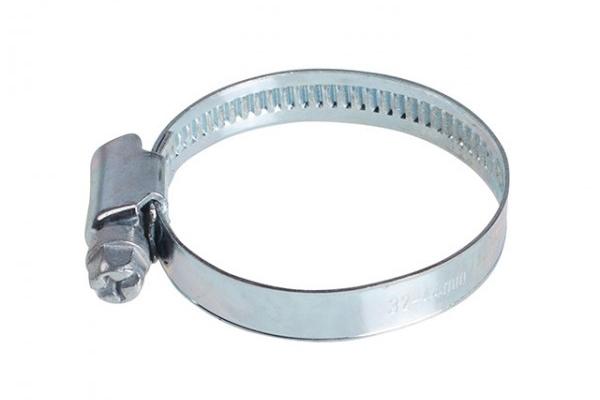 Хомут червячный DIN 3017 цинк W1 32-44 мм